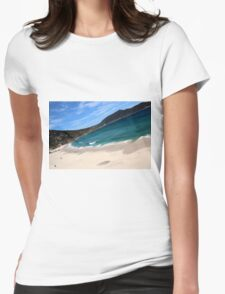 Little Oberon Bay, Wilsons Prom NP Womens Fitted T-Shirt
