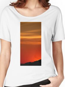 Sunset at Wilsons Prom NP Women's Relaxed Fit T-Shirt