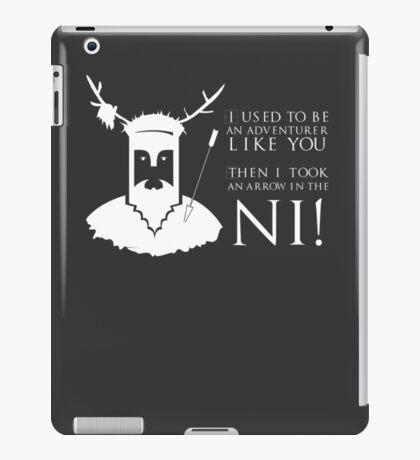 Arrow in the NI! iPad Case/Skin