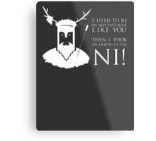 Arrow in the NI! Metal Print