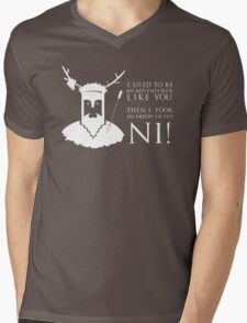 Arrow in the NI! Mens V-Neck T-Shirt
