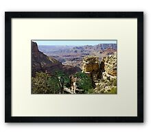967-Cougar Canyon Vista Framed Print