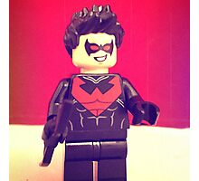Lego Nightwing Photographic Print