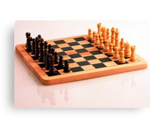 Chess Set Canvas Print