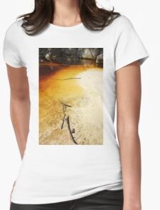 Waterloo Bay, Wilsons Prom NP Womens Fitted T-Shirt