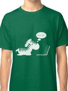 Programming zebra Classic T-Shirt