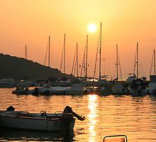 Sivota Harbour by DRWilliams