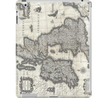 1631 Map of the British Isles by Joan Blaeu iPad Case/Skin