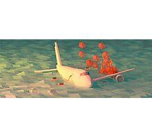 Plane Crash Photographic Print