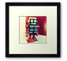 Wind Up Robot Framed Print