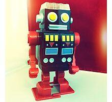 Wind Up Robot Photographic Print