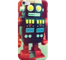 Wind Up Robot iPhone Case/Skin