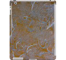 Yellow ice figures iPad Case/Skin