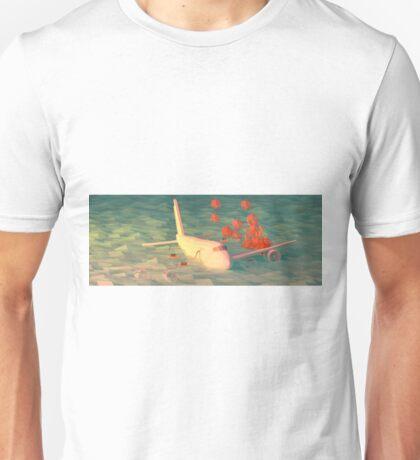 Plane Crash Unisex T-Shirt
