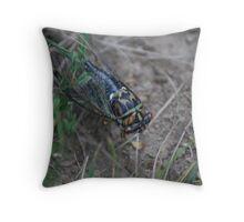 Locust  bugs/comp1 Throw Pillow
