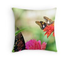 Flowers Upon Flowers Throw Pillow