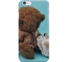 'Clifford' Handmade bears from Teddy Bear Orphans. Valentine bear iPhone Case/Skin