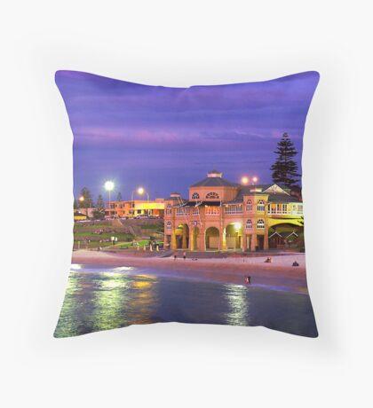Indiana Cafe Throw Pillow