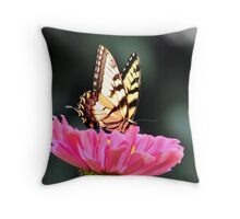 A Flower In The Veggie Patch Throw Pillow