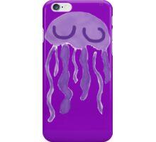 Purple jellyfish iPhone Case/Skin