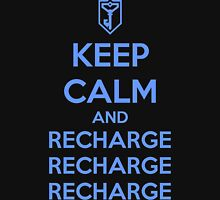 Keep Calm and Recharge (RES) Unisex T-Shirt