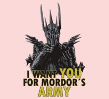 Mordor´s Army Kids Clothes