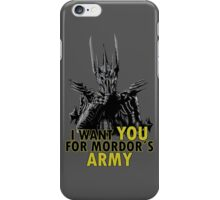 Mordor´s Army - Lord of the Rings The Hobbit Sauron iPhone Case/Skin