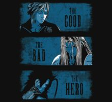 The Good the Bad and the Hero (Blue version) by ddjvigo