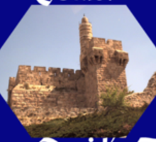 Tower of King David Sticker
