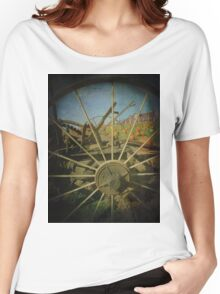 Take a Peek Through The Old Times to Now Women's Relaxed Fit T-Shirt