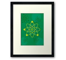 Atomic Structure (Graphic) Framed Print