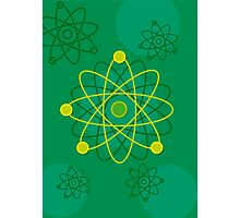 Atomic Structure (Graphic) Photographic Print