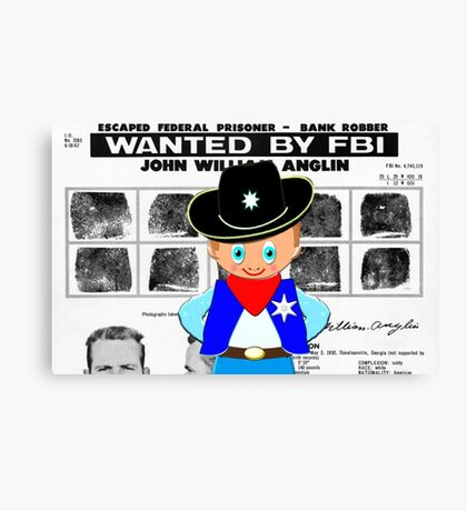 Toon Boy 12c Sheriff, Ready for any Emergency - all products Canvas Print