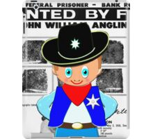 Toon Boy 12c Sheriff, Ready for any Emergency - all products iPad Case/Skin