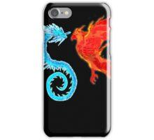 Dragon Vs Phoenix iPhone Case/Skin