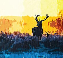 The water, the fire and the deer by Axel Savvides