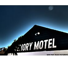 Memory Motel Photographic Print