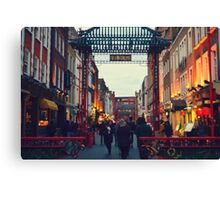 China Town Arch - London Canvas Print