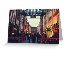 China Town Arch - London Greeting Card