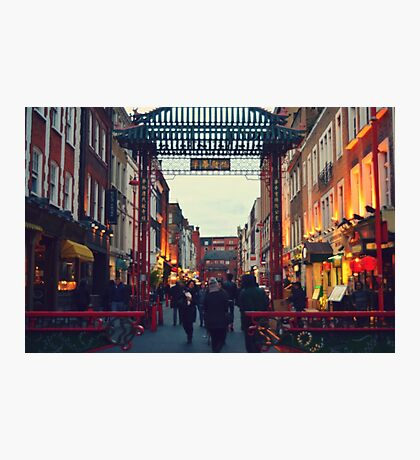China Town Arch - London Photographic Print