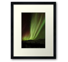 The Northern Light , Alaska USA.( Sold 8 image YAY )  Framed Print
