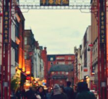 China Town Arch - London Sticker