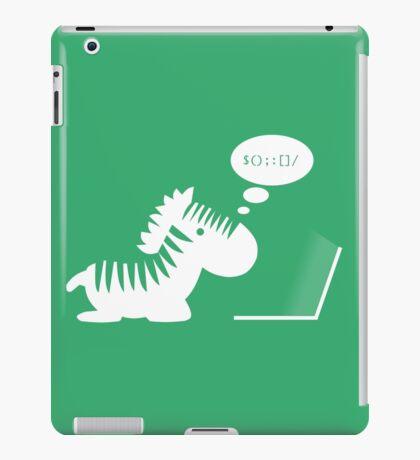 Programming zebra iPad Case/Skin