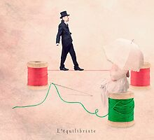The equilibrist by Yann Pendaries