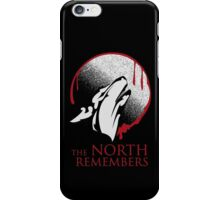 The North Remembers iPhone Case/Skin