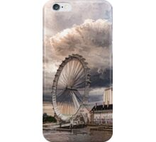 Impressions of London - London Eye Dramatic Skies iPhone Case/Skin