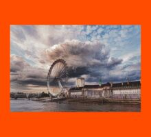 Impressions of London - London Eye Dramatic Skies Kids Clothes