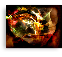 He Delights in Me Canvas Print