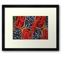 VeryBerries Framed Print