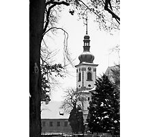 Chapel of the Revelation of the Lord, Smirice, Czech Republic Photographic Print